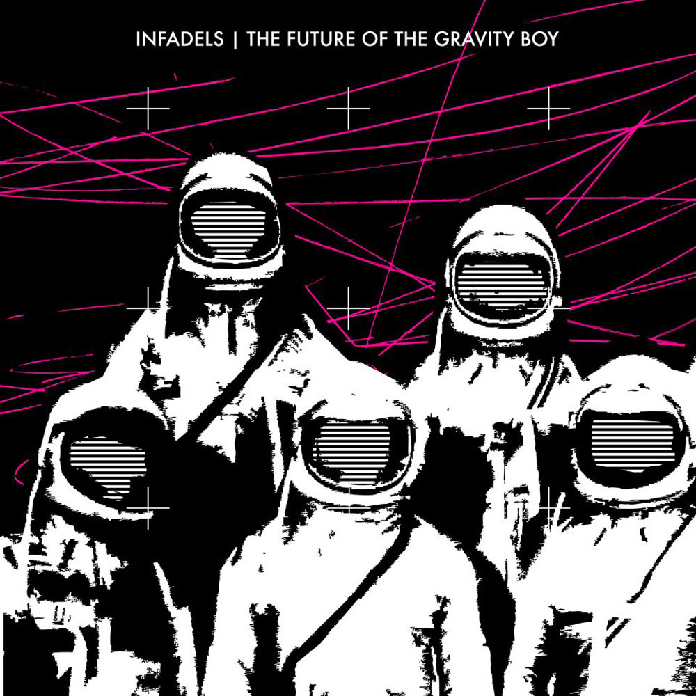 Infadels future of the gravity boy album cover