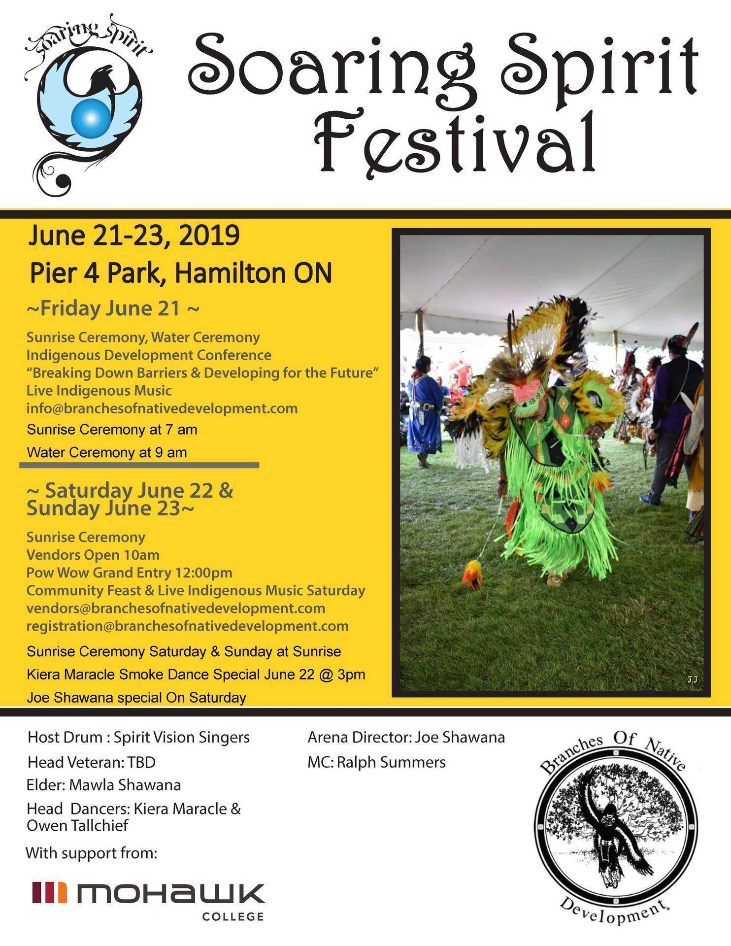 Pow wow flyer